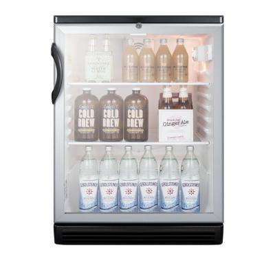 24 in. 5.5 cu. ft. Commercial Refrigerator in Black