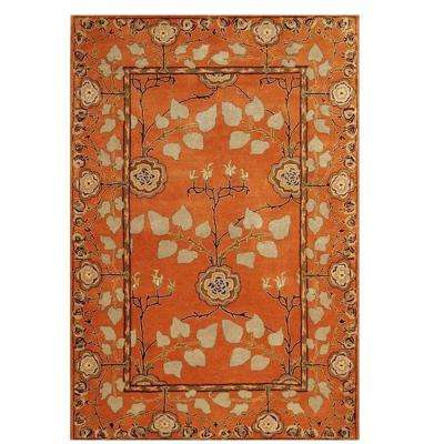 Patrician Pumpkin 4 ft. x 6 ft. Area Rug