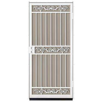 Sylvan Outswing Security Door with Perforated Rust-Free Aluminum Screen