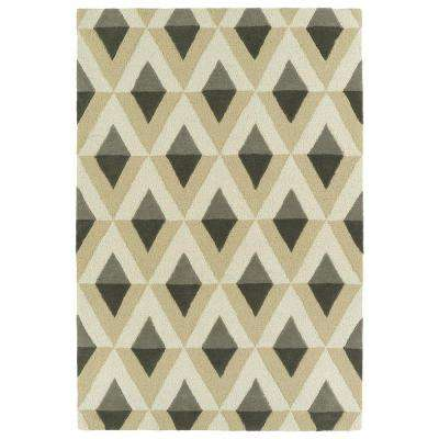 Spaces Grey 3 ft. x 5 ft. Area Rug