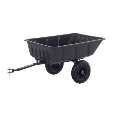 Dump Carts Riding Mower Tractor Attachments Outdoor Power