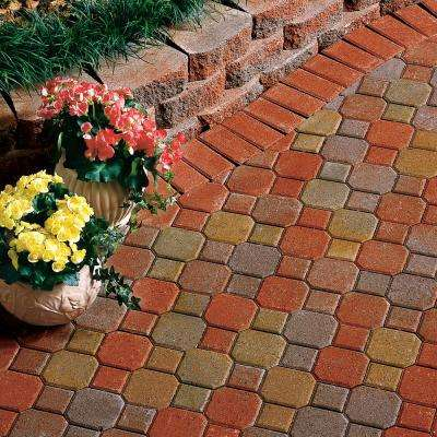 Decorastone 9.06 in. L x 5.51 in. W x 2.36 in. H Oldtown Blend Concrete Paver (350 Pieces/100 sq. ft./Pallet)