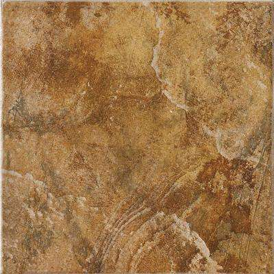 Imperial Slate 12 in. x 12 in. Tan Ceramic Floor and Wall Tile (14.53 sq. ft. / case)