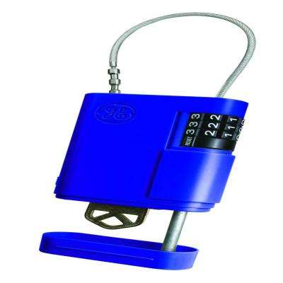 Stor-A-Key Locking Key Case with Cable, Blue