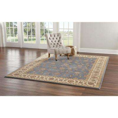Claire Azure 5 ft. x 7 ft. Area Rug