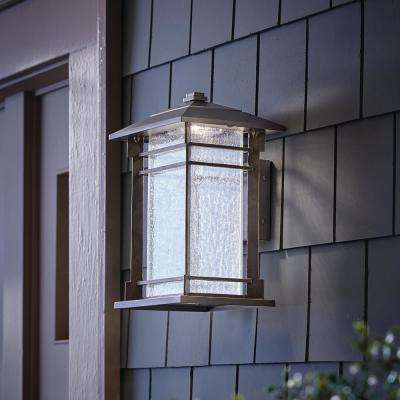 Exil 1-Light Black Outdoor Integrated LED Wall Mount Sconce