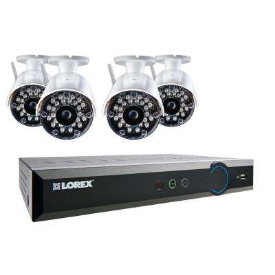 8-Channel 960H Surveillance System with 1 TB HDD and (4) Wireless Indoor/Outdoor Cameras