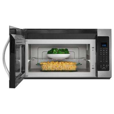 30 in. W 1.9 cu. ft. Over the Range Microwave Hood in Fingerprint Resistant Stainless Steel