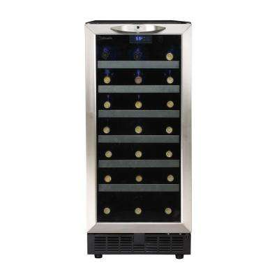 Silhouette 34-Bottle Built-In Wine Cooler