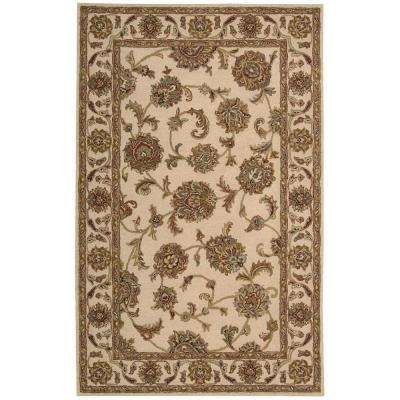 India House Ivory 8 ft. x 10 ft. 6 in. Area Rug