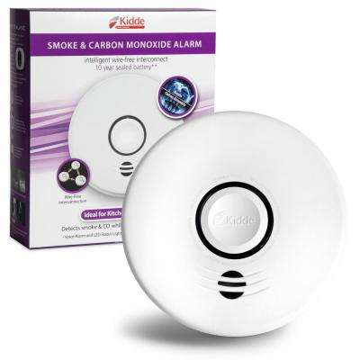 10-Year Worry Free Sealed Battery Smoke and CO Detector with Intelligent Wire-Free Voice Interconnect