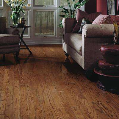 Oak Mellow 3/8 in. Thick x 3 in. Wide x Varying Length Engineered Hardwood Flooring (25 sq. ft. / case)