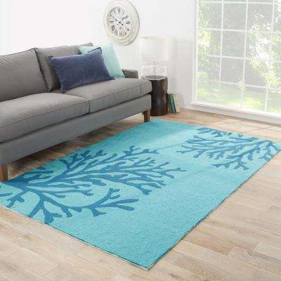 Seaport 4 ft. x 6 ft. Abstract Indoor/Outdoor Area Rug