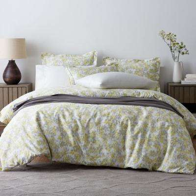 Whispering Leaves Sateen Duvet Cover