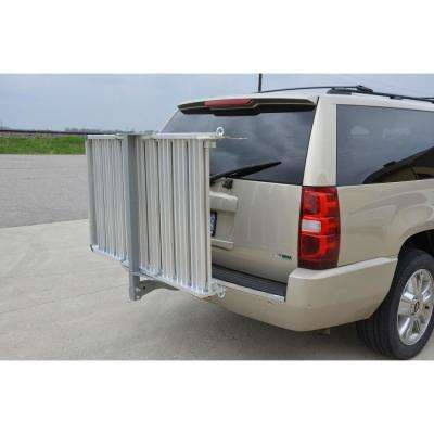 50 in. x 30 in. Aluminum Mobility Hitch Cargo Carrier