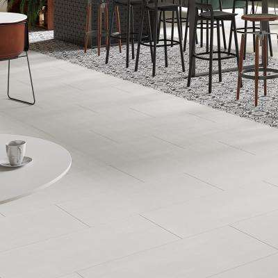 Burke Ghost White 12 in. x 24 in. Porcelain Floor Tile (11.57 sq. ft. / carton)