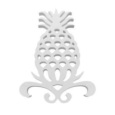 15 in. Welcome Pineapple Wall Decor