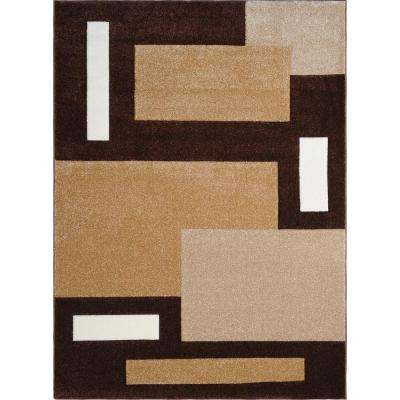 Sumatra Brown 7 ft. 10 in. x 10 ft. 2 in. Area Rug