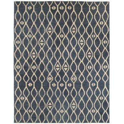 Integrity Wounded Warrior Donator Blue 8 ft. 9 in. x 11 ft. 9 in. Indoor Area Rug