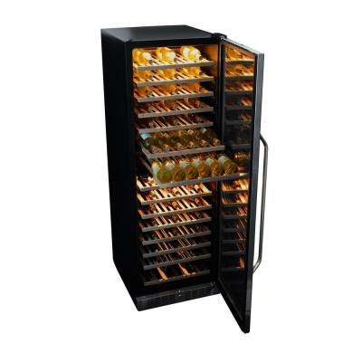 160-Bottle Dual Zone Built In Wine Cooler