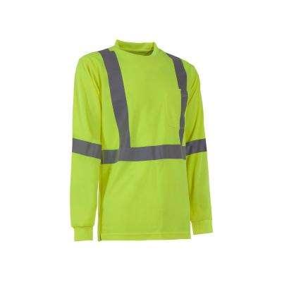Men's Hi-Visibility Type R Class 3 Performance Long Sleeve T-Shirt