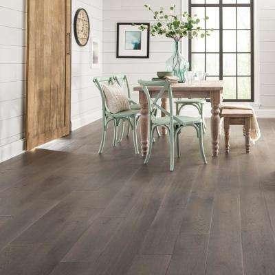 Castlebury Scarborough Grey Eurosawn 3/8 in. T x 6 in. W x Random Length Click Eng Hardwood Flooring (30.5 sq. ft./case)