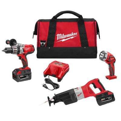 M28 28-Volt Lithium-Ion Cordless Combo Kit (3-Tool)