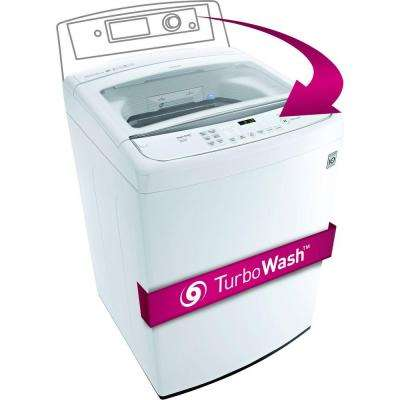 4.9 cu. ft. High-Efficiency Front Control Top Load Washer in White, ENERGY STAR
