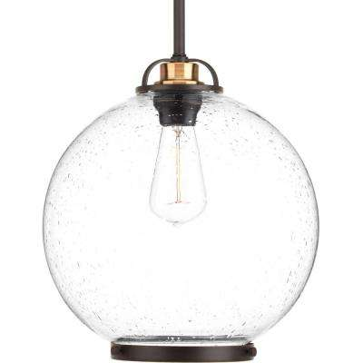 Chronicle Collection 1-Light Antique Bronze Pendant
