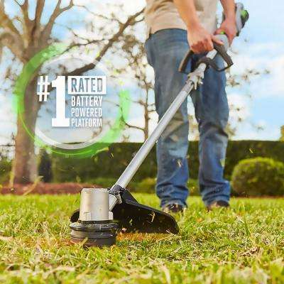 15 in. 56V Lithium-Ion Cordless Electric String Trimmer with Foldable Shaft, 2.5 Ah Battery and Charger Included