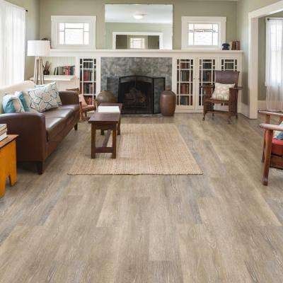 Multi-Width x 47.6 in. Radiant Oak Luxury Vinyl Plank Flooring (19.53 sq. ft. / case)