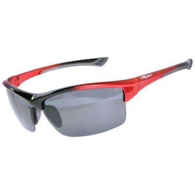 High Performance Gradient Red Cross Training V Sunglasses