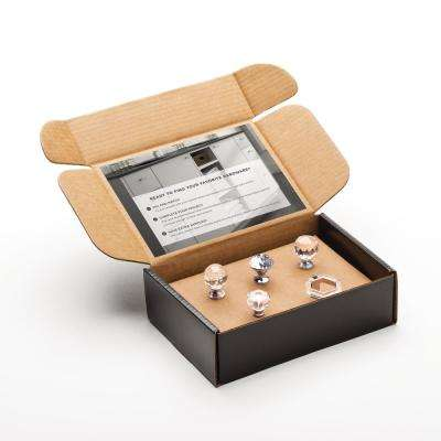 Crystal Cabinet Knob Sample Box (5-Pack)