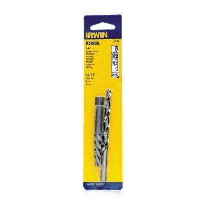 19/64 In. Spiral Screw Extractor & Drill Bit