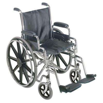 Manual Wheelchair with Removable Desk Arms