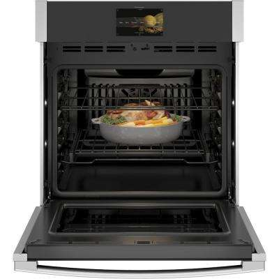 Profile 27 in. Smart Single Electric Smart Wall Oven with Convection Self-Cleaning and Wi-Fi in Stainless Steel