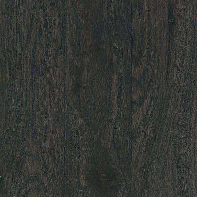 Take Home Sample - Franklin Ashen Hickory 3/4 in. Thick x Multi-Width Solid Hardwood - 5 in. x 7 in.
