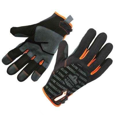 ProFlex Black Reinforced Utility Work Gloves