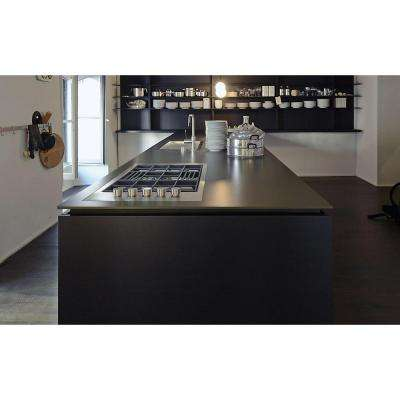 4 in. x 4 in. Ultra Compact Surface Countertop Sample in Domoos