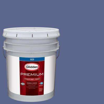 5 gal. #HDGV40D Majesty Violet Satin Interior Paint with Primer