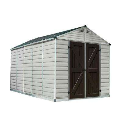 SkyLight Shed 8 ft.x 12 ft. Tan