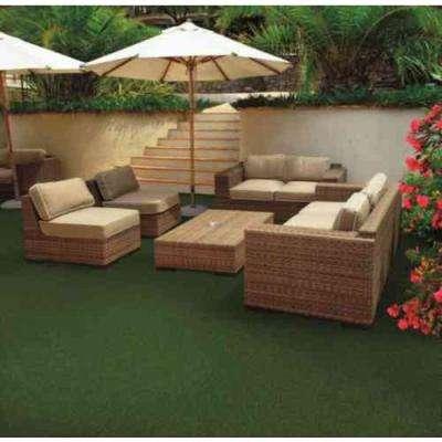 Vantage - Color Ivy Green Artificial Grass 12 ft. Carpet