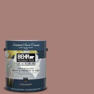 Home Decorators Collection 1-gal. #HDC-NT-07 Hickory Branch Satin Enamel Interior Paint