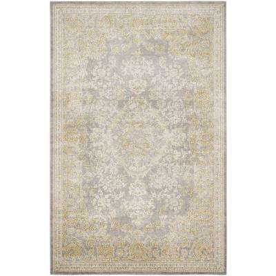 Passion Gray/Green 8 ft. x 11 ft. Area Rug