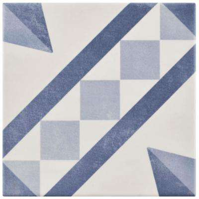 Atelier Azul Vendome 5-7/8 in. x 5-7/8 in. Ceramic Floor and Wall Tile (5.73 sq. ft. / case)