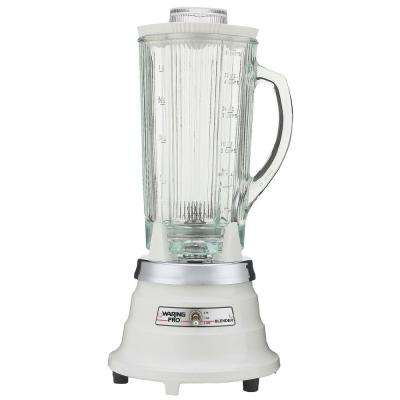 40 oz. Professional Food and Beverage Blender in Quite White