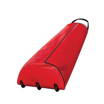 Premium Rolling Tree Storage Bag with Handle and Casters for 9 ft. Artificial Christmas Tree