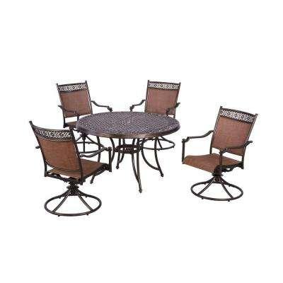 Niles Park 5-Piece Sling Patio Dining Set