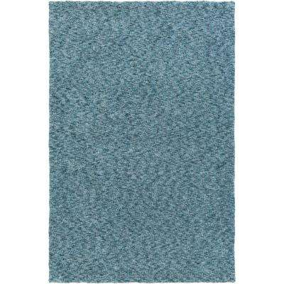 Sally Maise Teal 7 ft. 6 in. x 9 ft. 6 in. Indoor Area Rug