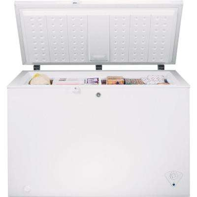 Garage Ready 10.6 cu. ft. Chest Freezer in White, ENERGY STAR